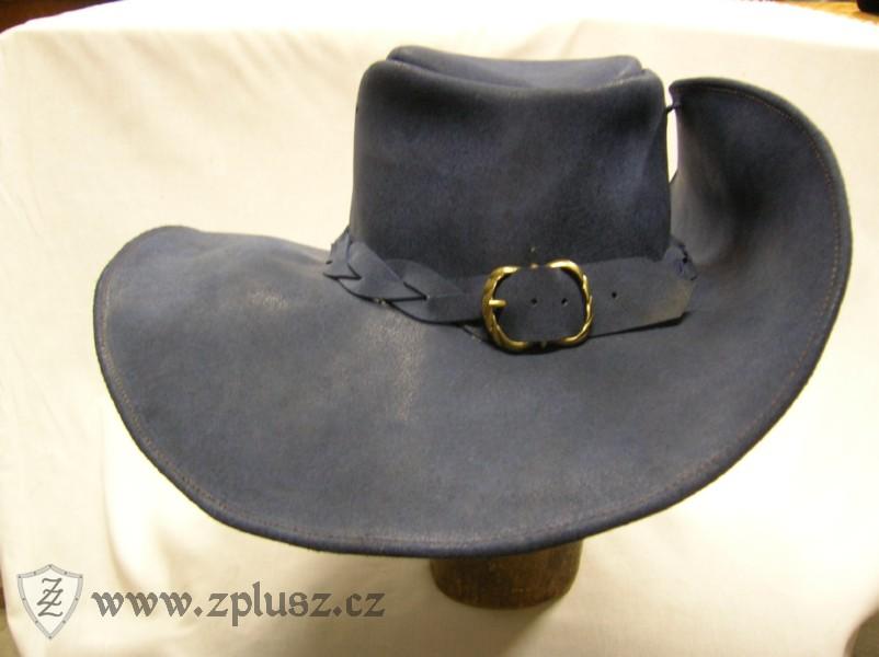 dfca876235b Kožený klobouk mušketýrský - ZplusZ - Výroba zbraní a zbrojí